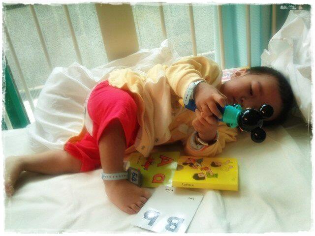 腸胃炎 第一次入院