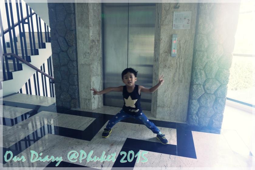 布吉海景酒店電梯