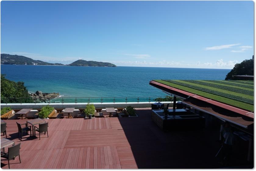 布吉酒店 U Zenmaya 美麗的海景景色