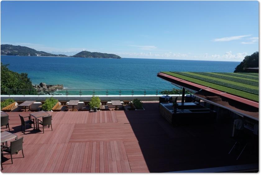 布吉酒店 U Zenmaya 美麗而放鬆的海景景色