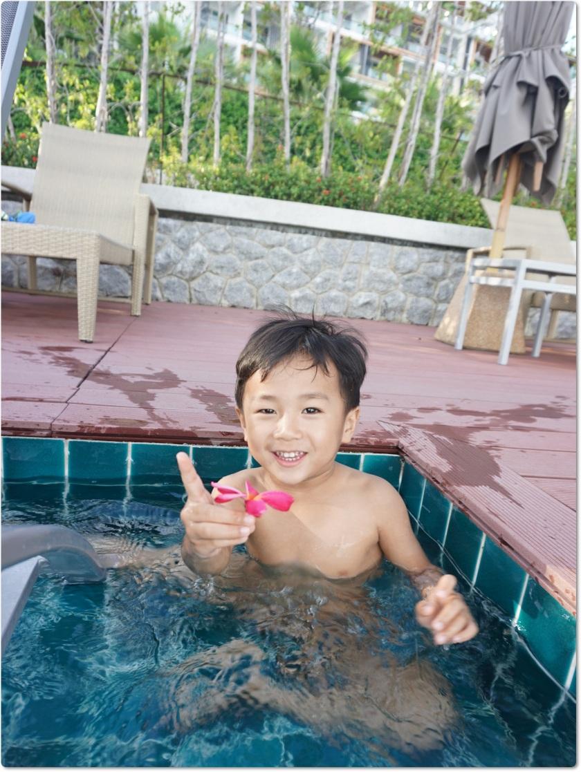 布吉酒店 U Zenmaya infinity pool 游泳玩樂