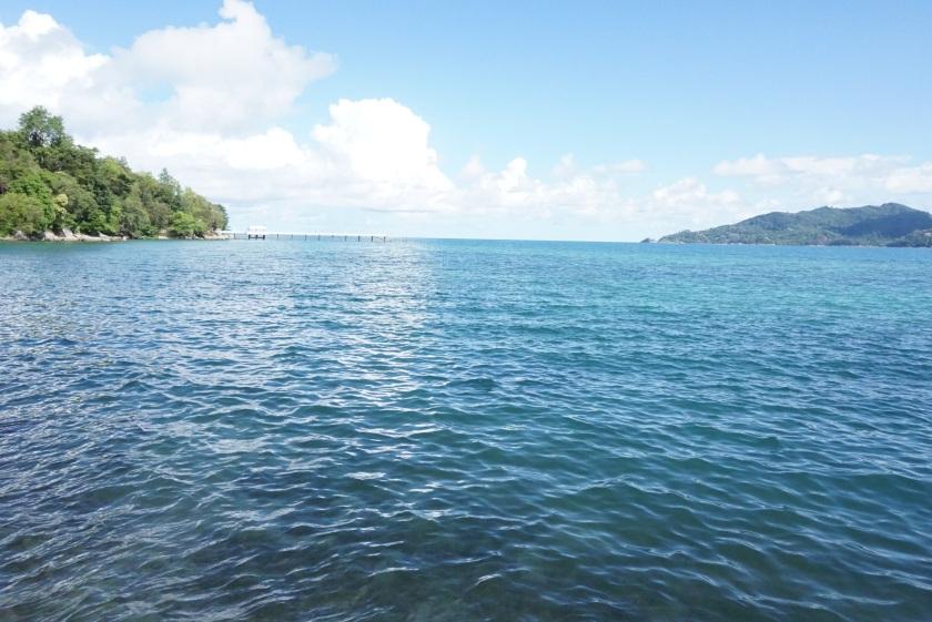 布吉酒店 amari 的海景 真的好美
