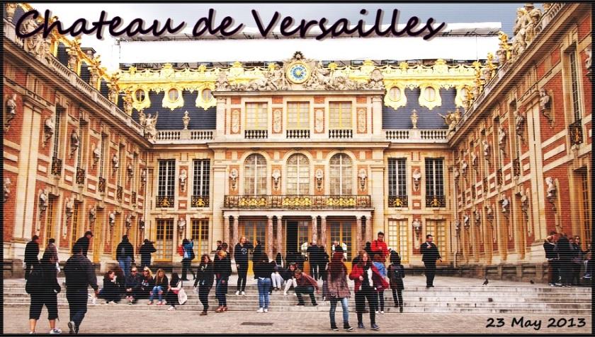 凡爾賽宮 遊記 2013