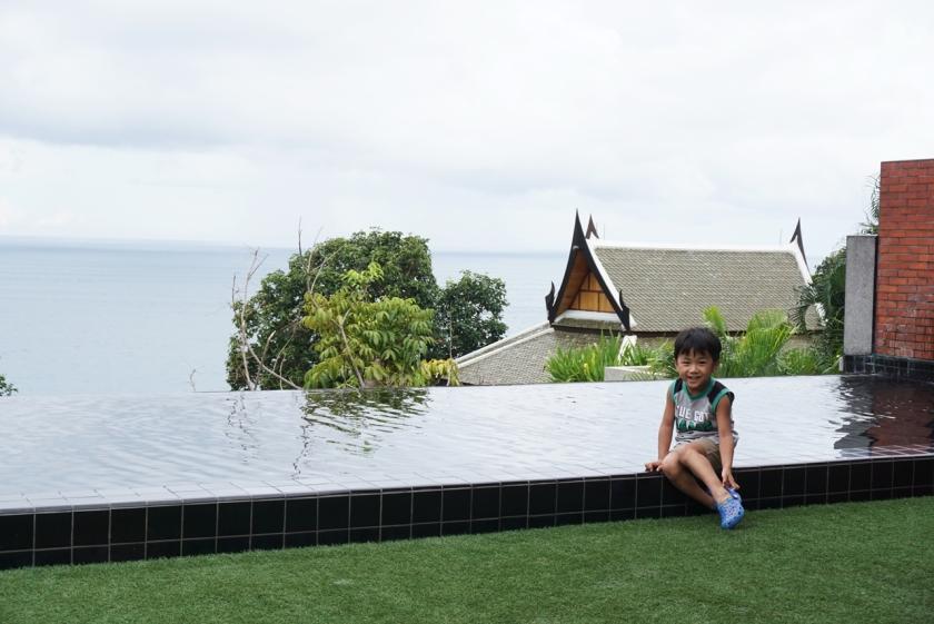 布吉酒店 私人泳池房