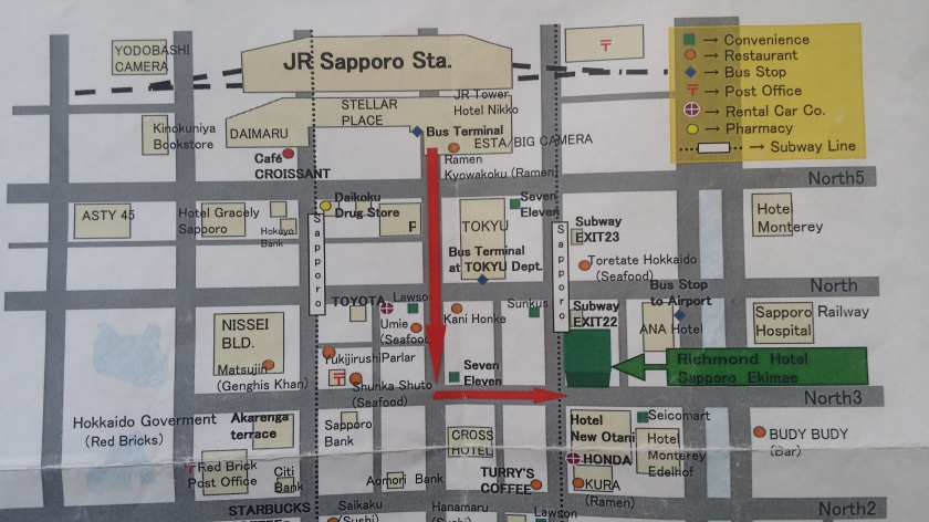 Richmond Hotel Sapporo Ekimae 札幌