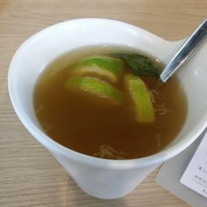 熱檸檬綠茶