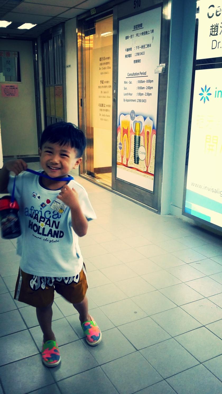 太子思傑牙科醫療集團小朋友第一次洗牙