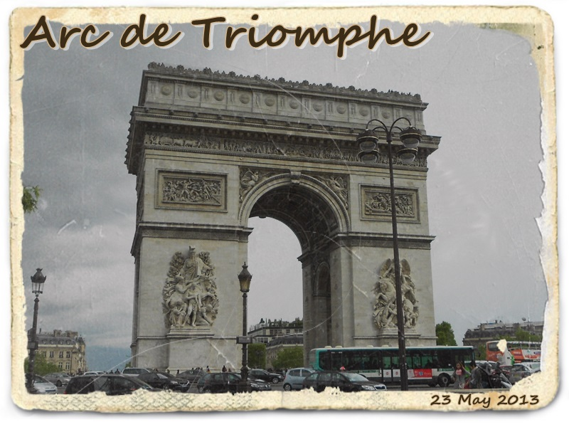 凱旋門  Arc de Triomphe