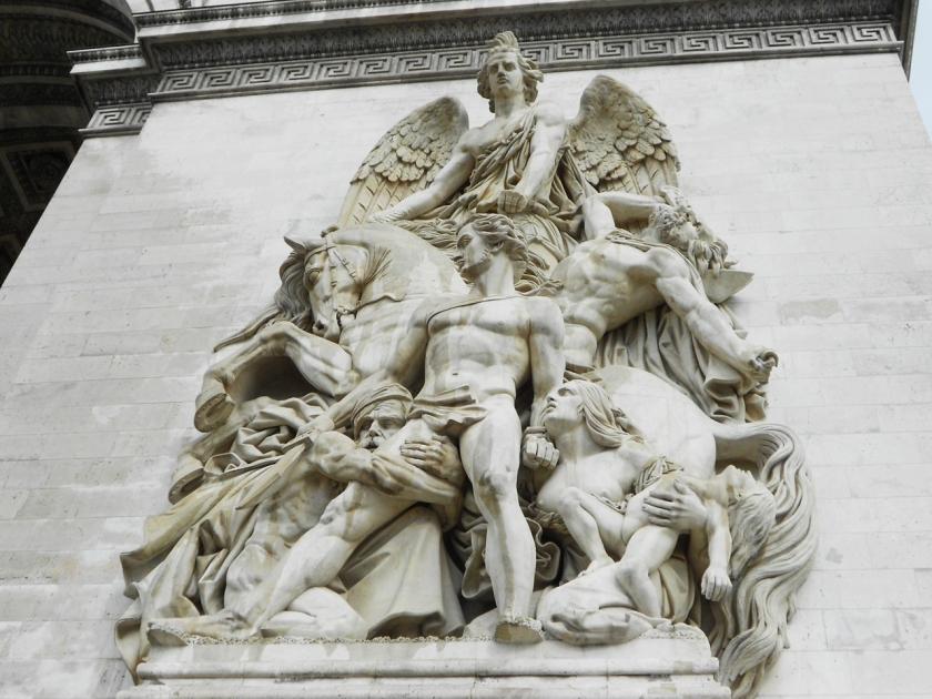 凱旋門 Arc de Triomphe 法國巴黎 Paris 遊記
