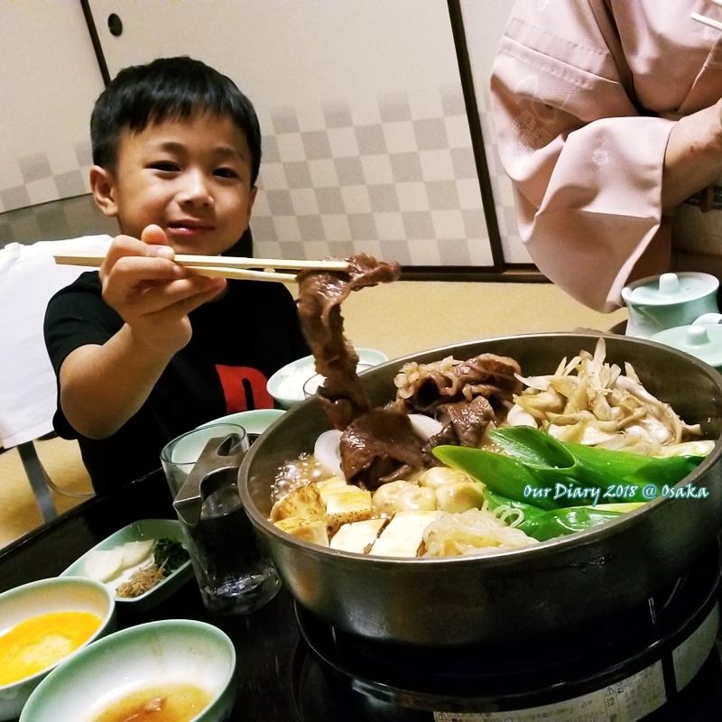 京都木屋町壽喜燒 モリタ屋 blog照片 識食的小朋友