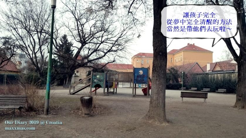 Playground next to Tkalciceva street