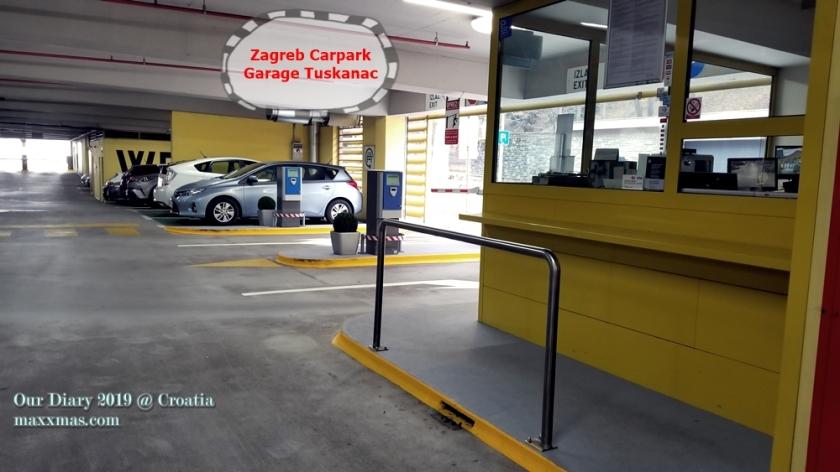 Garaga - Tuškanac,zagreb carpark