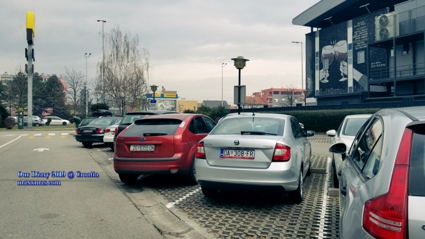 ZAGREB MCDONALD'S Carpark