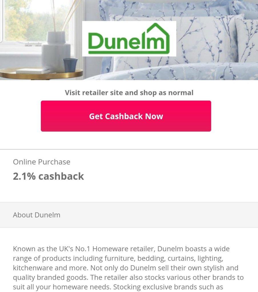 Dunelm Online Shopping